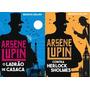 Kit 2 Livros Aresen Lupin Ladrão De Casaca Contra Herlock