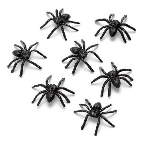 Mini Aranha De Plástico Para Lembrancinha Pct 150 Unidades Original