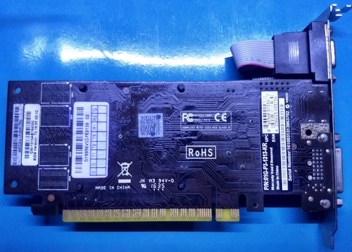 Placa De Video Vga Evga Geforce Gt210  1gb Ddr3 Vga/dvi/hdmi Original