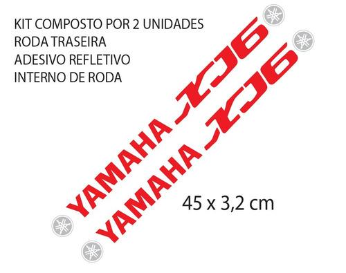 Aparador Y Vitrina Clasico ~ Comprar Kit Adesivo Refletivo Roda Moto Yamaha Xj6 Large Mod Xj6 Apenas R$ 63,48 Aprender