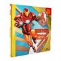 Marvel Legends Livro Com Boneco Iron Man Minhas Historias