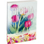 Bíblia Feminina Letra Grande Flores