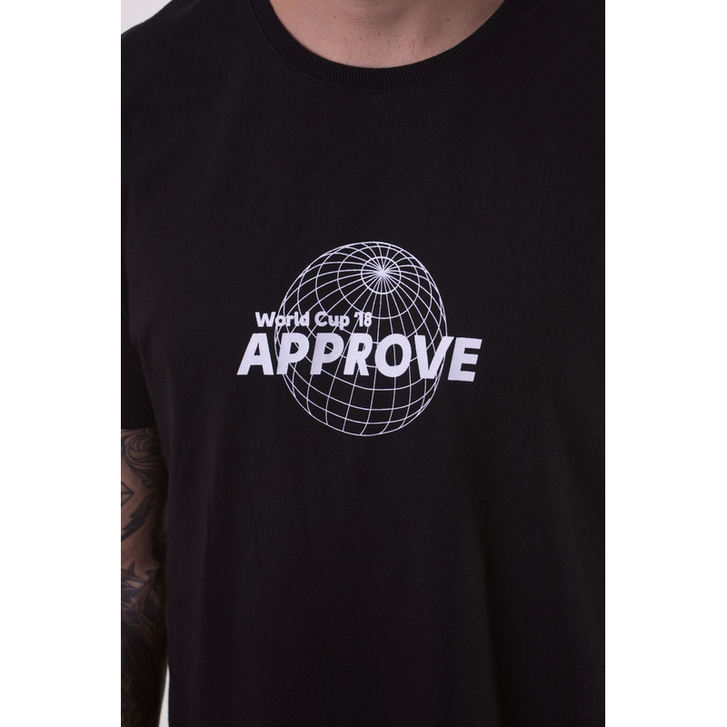 CAMISETA APPROVE WORLD CUP PRETA