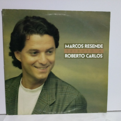 Lp Vinil Marcos Resende - Tributo A Roberto Carlos (50j) Original