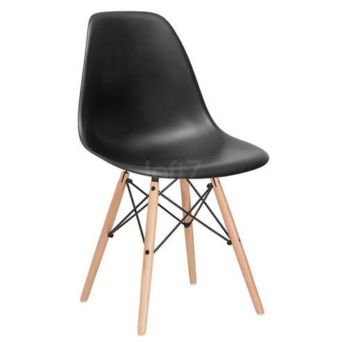 Cadeira Charles Eames Wood - Design   Nf + Garantia - Dsw