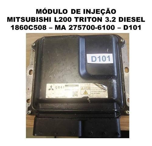Modulo Injeção Mitsubishi L200 Triton 3.2 Dies 1860c508 D101 Original