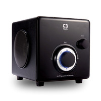 CAIXA DE SOM SPEAKER 2.1 BLUETOOTH E RÁDIO C3TECH SP-330B BK PRETO