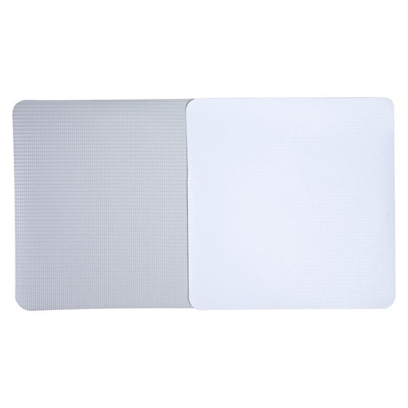 Lona pvc para frontlight Superfront branca fosca avesso cinza (440 g) larg. 3,20 m