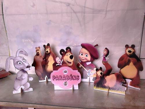 Masha E O Urso - 7 Displays De Mesa