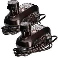 Kit com 2 Bateria 12V Íons de Lítio BL1014 + 2 Carregador de Bateria DC10WB - Makita - Bivolt