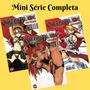 Mangá Hq Queen´s Blade Mini Série Completa Em 3 Edições