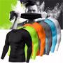 7 Camisa Térmica Proteção Total Uv Blusa Camiseta