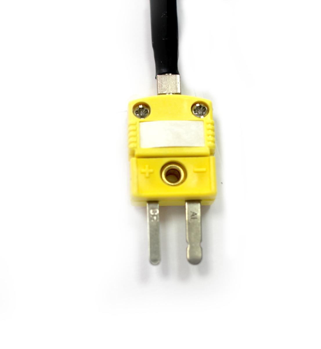 Sensor Termopar tipo K ponta protegida 0,3mm x 100mm com ...