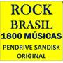 Rock Brasil Coletânea 1800 Músicas Pendrive Gravado