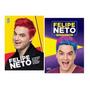 Kit Felipe Neto 2 Livros Trajetória E Vida Do Youtuber