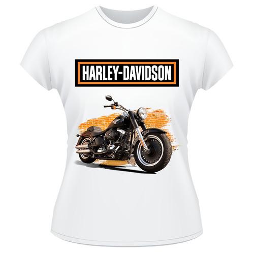 Baby Look Moto Harley Davidson Motor Cycles - Softail Fat Boy