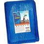 Lona 12x8 Mt Plastica Azul Forro Piscina Impermeavel Telhado