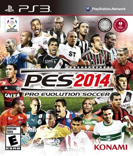Jogo Pro Evolution Soccer 2014 Pes Ps3 Mídia Físic Português Original