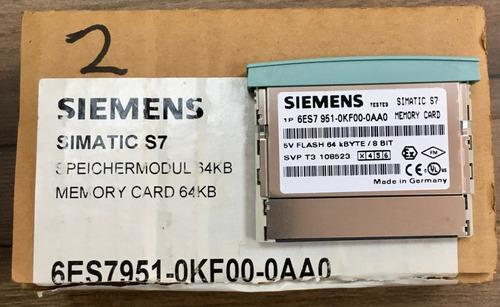 Memory Card Simatic S7 6es7 951-0kf00-0aa0 Clp 64 Kb Original