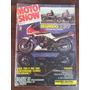 Revista Moto Show De 1987 Lançam. Da Cbx 750 E Rd 350 Nac.