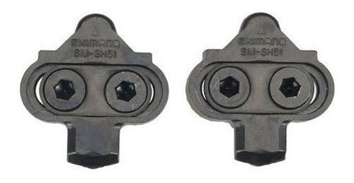 Taquinho Sapatilha Pedal Clip Shimano Sm Sh51 Spd Mtb Taco Original
