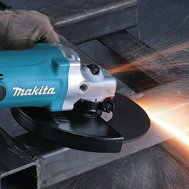 "Esmerilhadeira Angular 230 mm (9"") 2.000 Watts - GA9050 - Makita - 220 Volts"