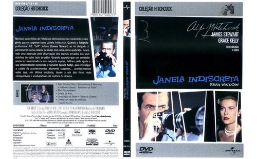 Dvd Lacrado Janela Indiscreta James Stewart Grace Kelly Cole Original