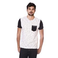 Camiseta Long Island Plus Size BS Branca