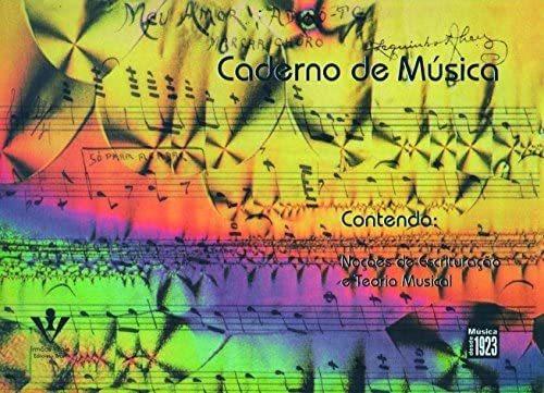 Livro - Caderno De Música (6 Pautas) Original