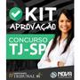 Kit Aprovação Tj sp 2017 Escrevente Técnico Judiciário