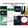 Combo: 8 Livros De Direito Constitucional Ano 2017