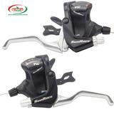 TROCADOR COM MANETE SUN RACE M400 3X7 C/CABOS