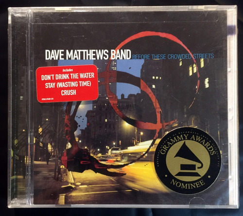 Cd Dave Matthews Band Before These Crowded Streets Imp Lacra Original