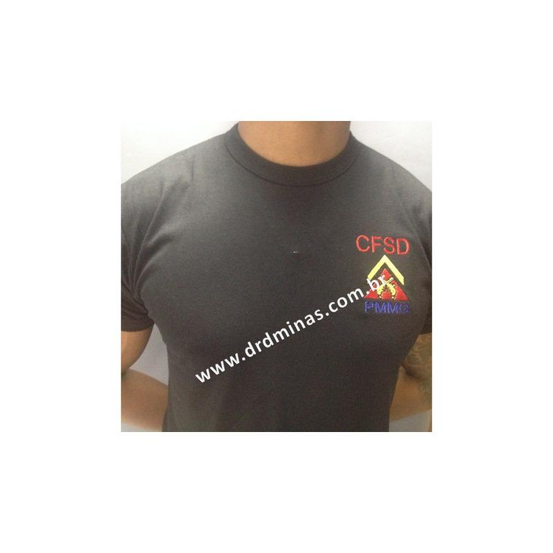 Camisa CFSD - Bordada Preta
