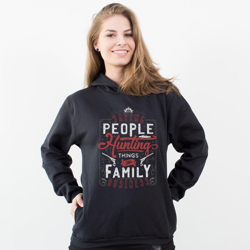 MOLETOM PRETO - THE FAMILY BUSINESS