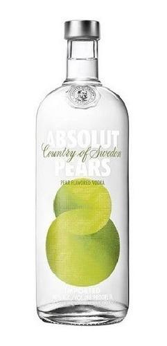 Vodka Absolut Pears (pera) 1 Litro Com  Original