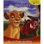 Livro O Rei Leão O Ciclo Da Vida Com 10 Miniaturas