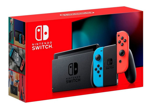 New Nintendo Switch Neon 2019 Pronta Entrega Original