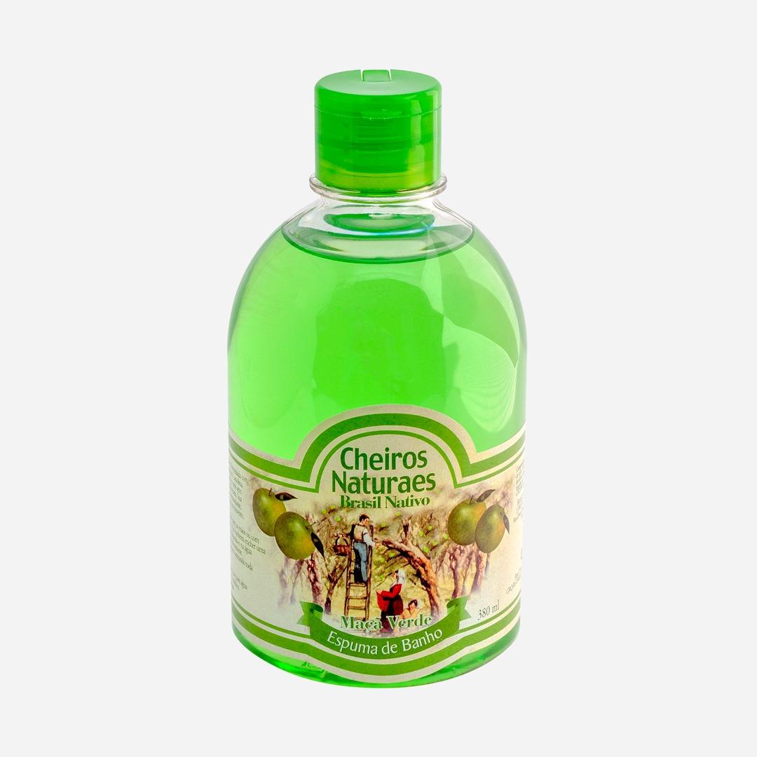 Espuma de Banho Cheiros Naturaes Maçã Verde...