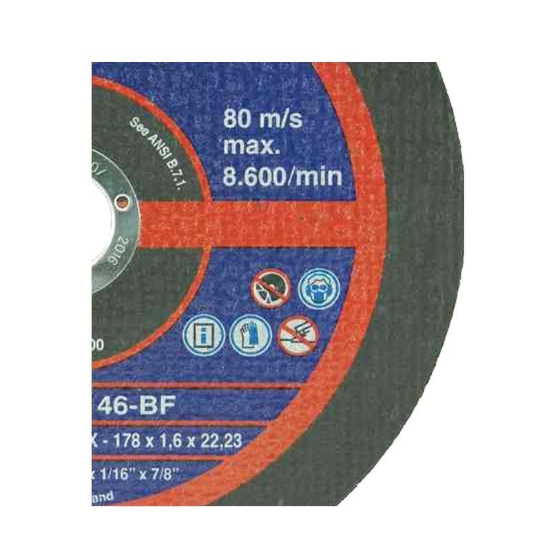Disco De Corte - 178 X 1.6 X 222 - Expert Carbon - Tyrolit 50UN