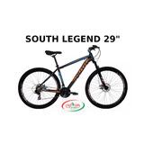 """BICICLETA SOUTH LEGEND ARO 29"""" 21V SHIMANO TOURNEY"""