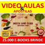 Curso Receitas Dieta Low Carb Video Aulas