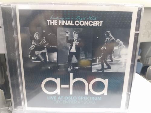 Cd+dvd A-ha - Ending On A High Note - The Final Concert Live Original