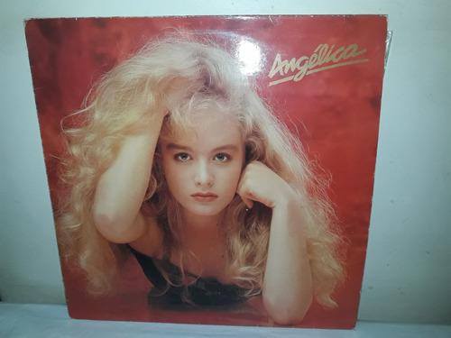 Lp Angelica + Encarte Tic Tac 1989 Ja 37 Original