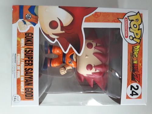 Pop Funko Dragon Ball Goku Deus Super Saiyajin Original