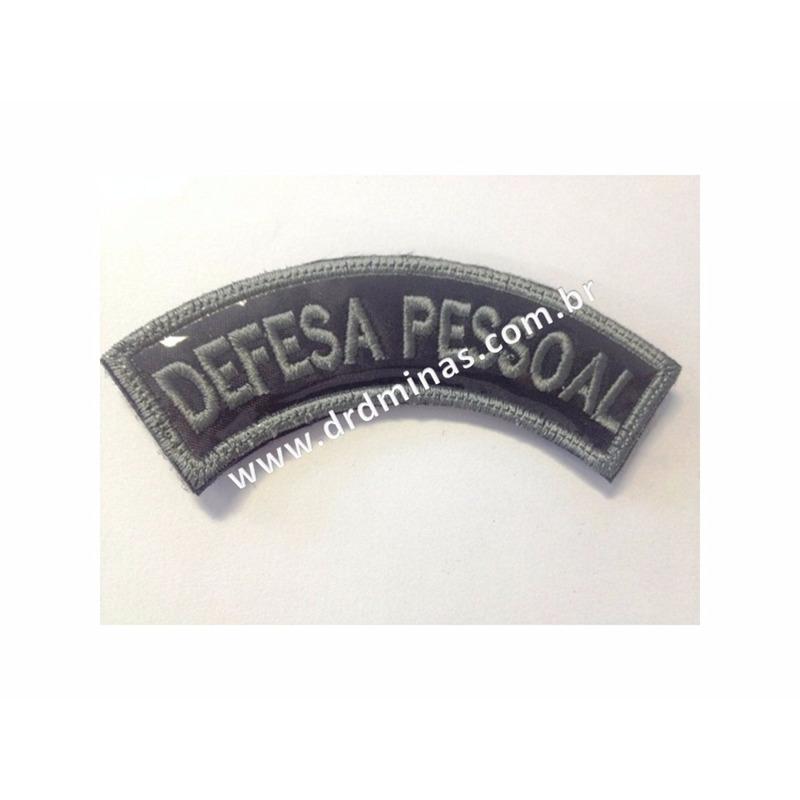 Patch / Distintivo Bordado Defesa Pessoal - U