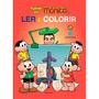 Livro Turma Da Mônica Ler E Colorir Médio Culturama