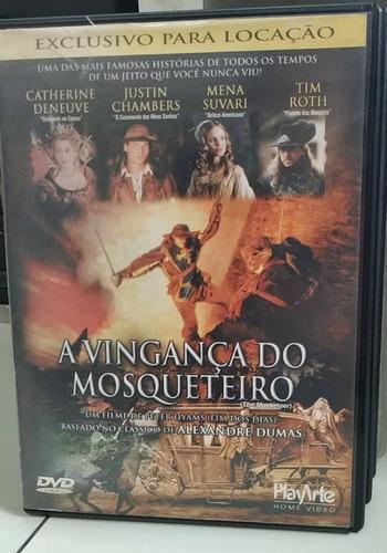 A Vingança Do Mosqueteiro -dvd Original