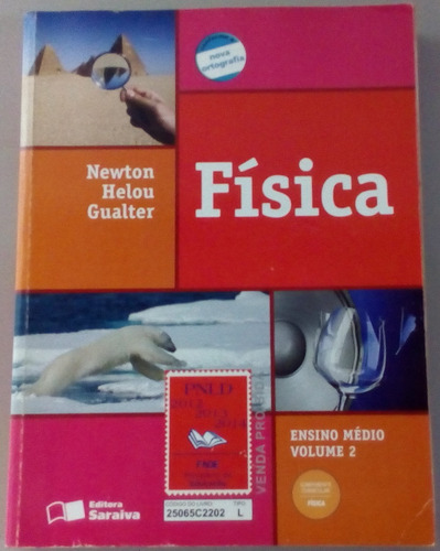 Livro Física Ensino Médio Volume 2 Original