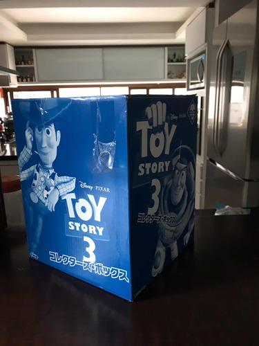 Toy Story 3 - Gift Set Japonês - Com Luxor! Raro Único No Br